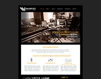 Warped studio - logo + maquette web