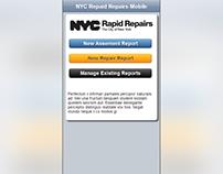 2012 NYC Rapid Repairs: mobile web prototype