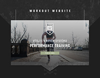 Workout Plan Website