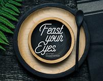 Feast Your Eyes CLT Brand Design