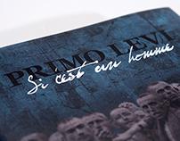 Jaquette de livre pour Si c'est un homme de Primo Levi