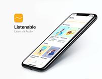 Listenable — Learn via Audio