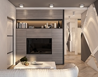 Визуализация квартиры для FreshArt, г. Нижний Новгород