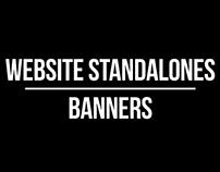 WEBSITE STANDALONES / BANNER