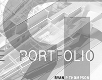 Ryan P Thompson Architecture Portfolio 2016
