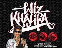 Wiz Khalifa Concert Designs