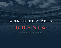World Cup 2018 Russia - Socail Media