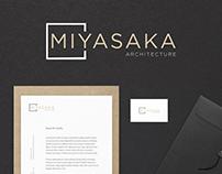 Daily UI 052 - Logo - Miyasaka Architecture