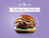 Diet House for Healthy Fast Food,Social Media campaign