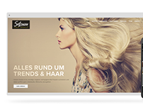 Salzmann Hairgroup Webdesign