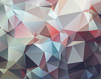 35+ Attractive Geometric Polygonal Backgrounds