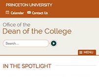 Princeton University - ODOC