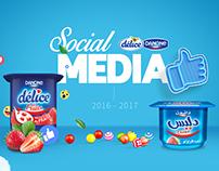 Yaourt Délice Social Media