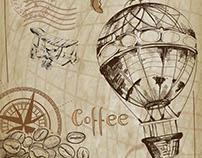 Antique & Vintage Coffee Art