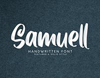 Samuell - Handwrittent Font