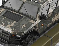 military concept car