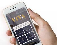 Vivahouse mobile app concept