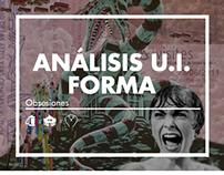 Análisis U.I Forma: Obsesiones / ARQU-38