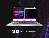 Web - Witty Managment