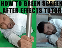 How to green screen in After effects tutorial | adobe a