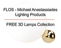 FLOS - Michael Anastassiades | Free 3D Models
