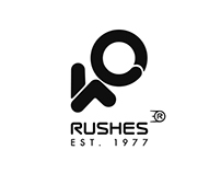 Rushes 40th Branding
