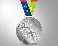ALFA League 2018 Medal & Packaging