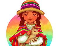 Niña Aimara/Aymara