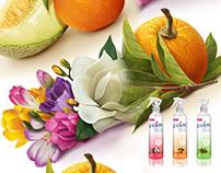 POETT | Natural Blends - Packaging illustrations -