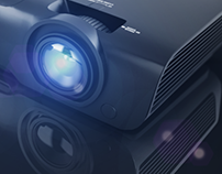 CGI of vivitek projector