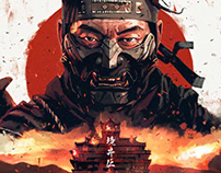 Ghost of Tsushima / Fan Art