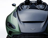 2020 Aston Martin V12 Speedster Black & Green