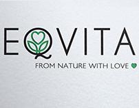 Création logo Novac Djokovic eqvita restaurant
