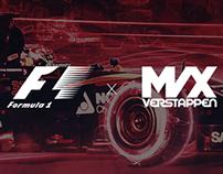 Formula 1 Max Verstappen Artwork