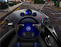 Fiat Coltello - Single Seater Ergonomics Project