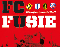 Poster for Documentary about the becoming of FC Utrecht