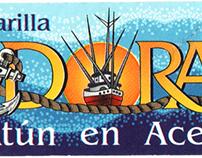 Etiqueta Atún Doral