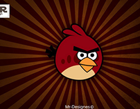 Angery Bird Vector Art