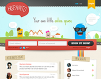 Hispanito : Concept social media website