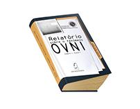 Relatório sobre o fenómeno OVNI - Book Design
