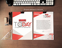 Today - design for web project