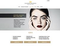 Сайт для салона красоты, Тель-Авив