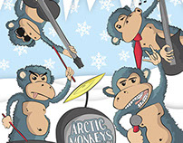 Arctic Monkeys ▪ vinyl cover