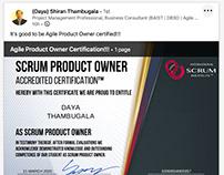 Scrum Institute - Scrum Product Owner Certifications