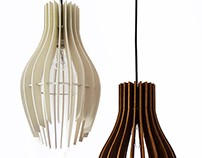Striped ❤→♥.pendant lights