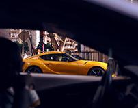Toyota Supra for Esquire