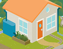 Urban water cycle  |  Illustration
