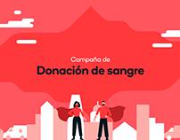 Donación de Sangre | Campaña