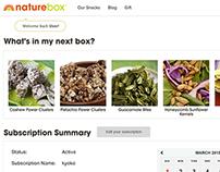Naturebox - Wireframe