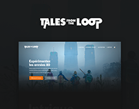 Tales From The Loop - Website Concept Design